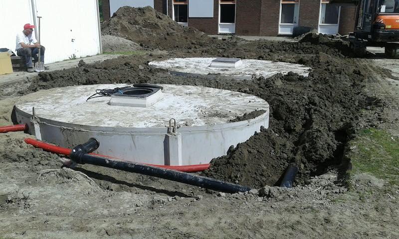 Beregening BBV BV tuin in Renesse Zeeland