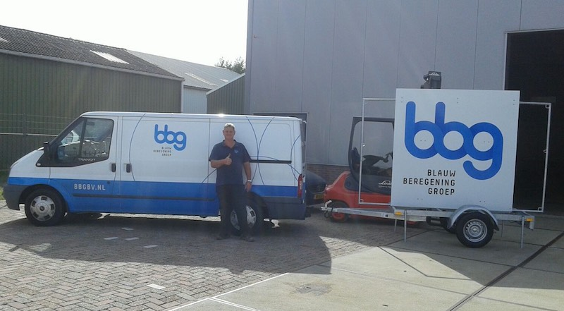 BBG bv beregening bus